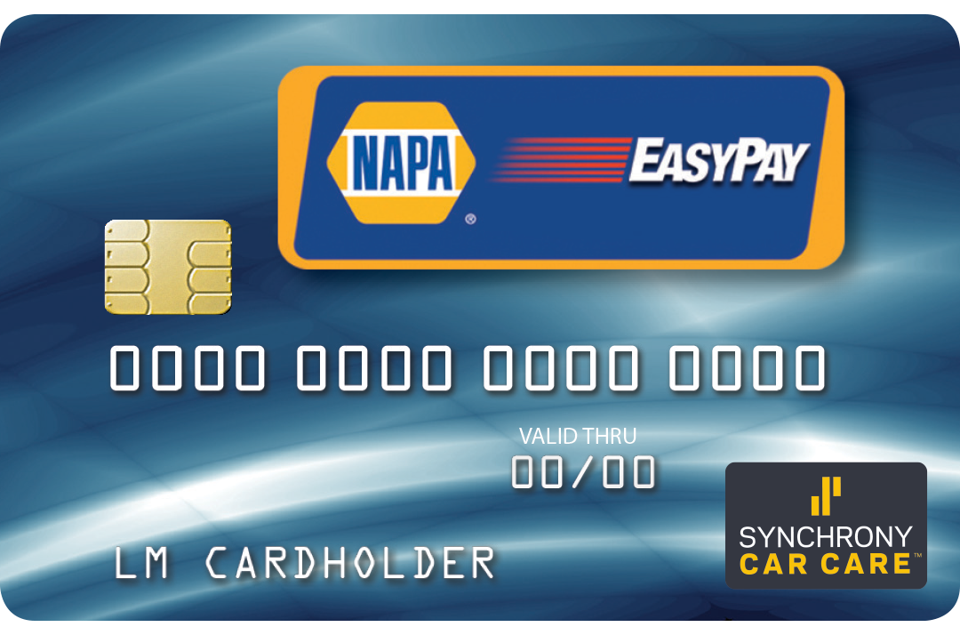 Napa EasyPay Credit Card Apply Now click here